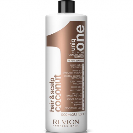 Revlon Hair & Scalp Coconut All In One Conditioning Shampoo