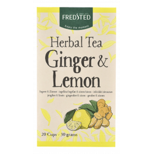 Herbal Ginger & Lemon Te