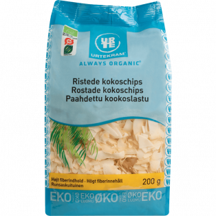 Ristede Kokoschips
