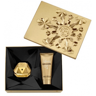 Lady Million Eau De Parfum & Body Lotion Gavesæt