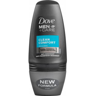 Men +Care Clean Comfort Roll On Deo