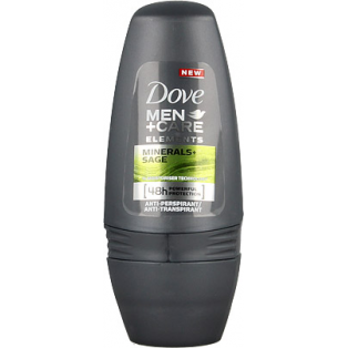 Men +Care Minerals & Sage Roll On Deo