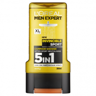 Men Expert 5 in 1 Invincible Sport Shower Gel