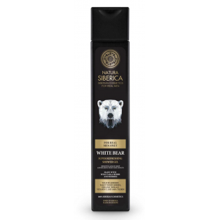 Men White Bear Shower Gel