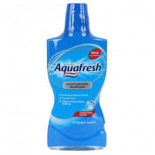 Aquafresh Extra Fresh Daily Mouthwash