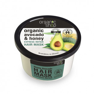 Organic Avocado & Honey Hair Mask