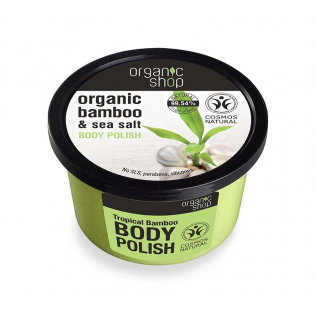 Organic Bamboo & Sea Salt Body Polish