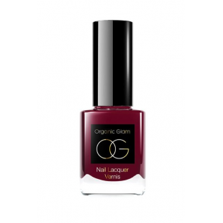 Organic Glam Neglelak, Deep Ruby