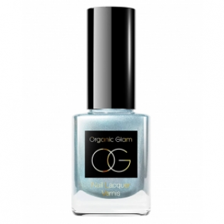Organic Glam Neglelak, Ice Blue