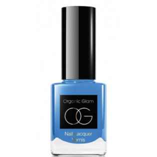 Organic Glam Neglelak Pale Blue