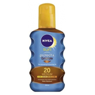 Protect & Bronze SPF 20 Tanning Oil Bronzer