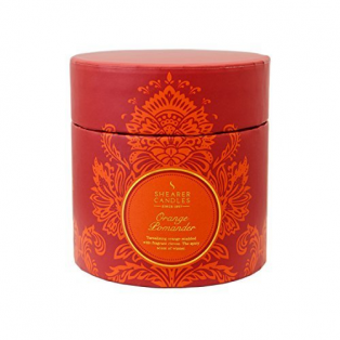Scented Candle Orange & Pomander Gift Box