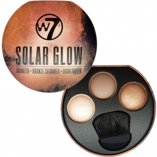 Solar Glow - Bronzer, Bronze Shimmer, Highlighter