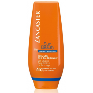 SPF 15 Sun Beauty Silky Milk Fast Tan Optimizer