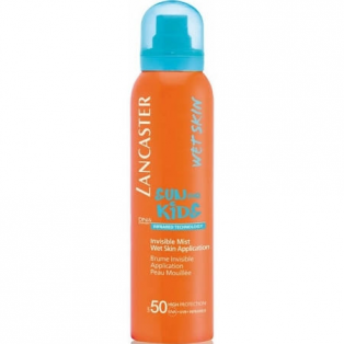 SPF 50 Sun Kids Invisible Mist Wet Skin Applicatio