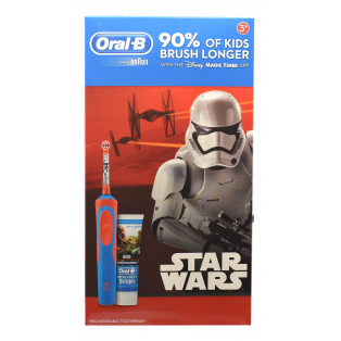 Stages Vitality Rechargeable Brush Tandbørste & Tandpasta - Star Wars