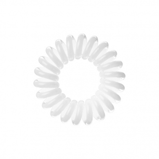 The Traceless Hair Ring White Hårelastik