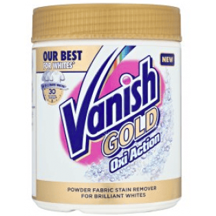 Vanish Gold Oxi Action Powder til Hvid