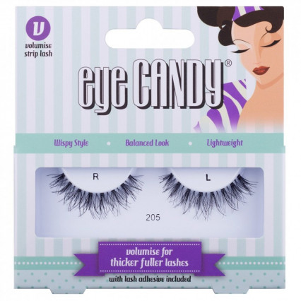 Eye Candy Volumise False Eyelashes 205
