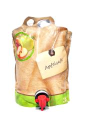 Apfelsaft, BIO Verpackung, 3L