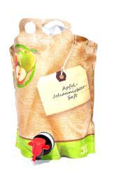 Apfel- Johannisbeer- Saft, BIO Verpackung, 3L