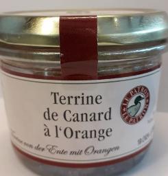 Terrine, Ente mit Orange