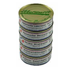 Dosenpaket - Original Pfälzer Dosenwurst