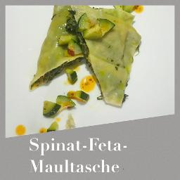 Spinat-Feta Maultaschen