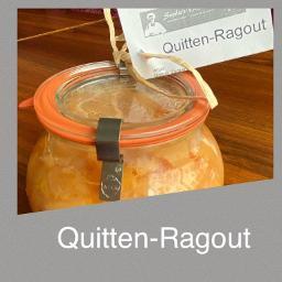 Quitten Ragout