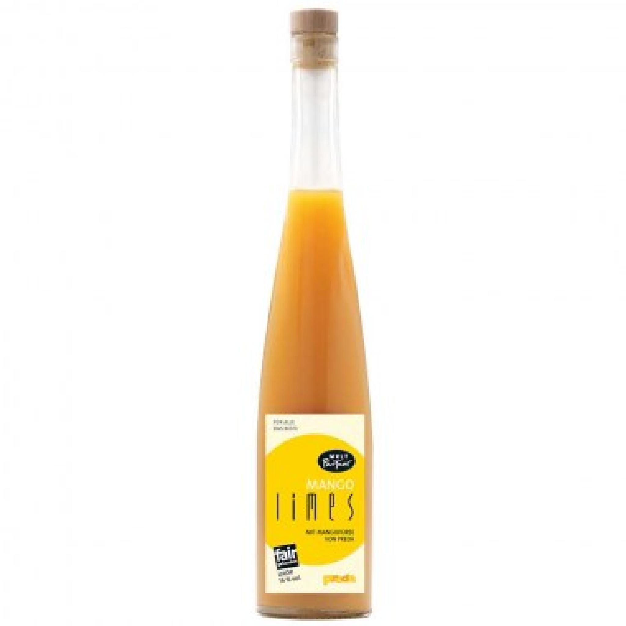 Mango-Limes Likör, 16%