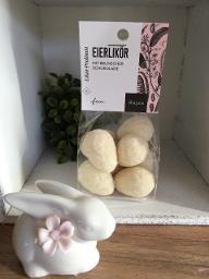 Eierlikör mit belgischer Schokolade