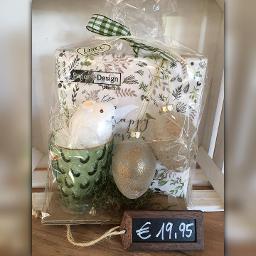 Servietten, Teelicht, Hase, Eier