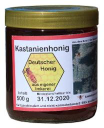 Kastanienhonig