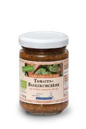 Tomaten-Basilikumcrème BIO