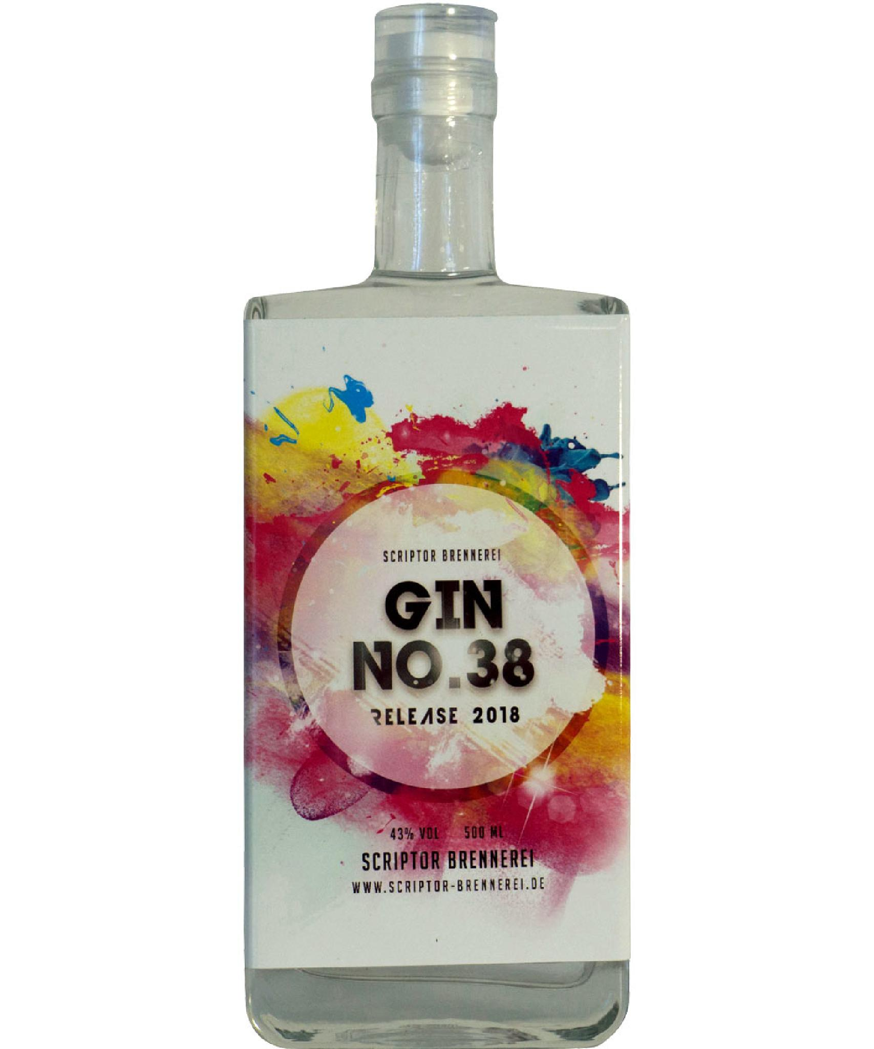 Gin NO. 38, 43% VOL.