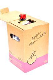 Apfel- Kirsch- Saft, BIO Verpackung, 5L