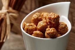 Gebrannte Macadamia Nüsse