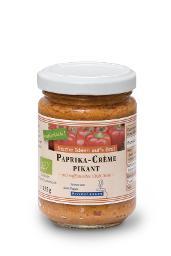 Paprika-Crème Pikant BIO