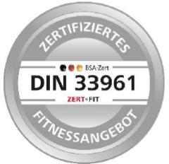 TÜV-Zertifikat terra sports - Düsseldorf Friedrichstadt