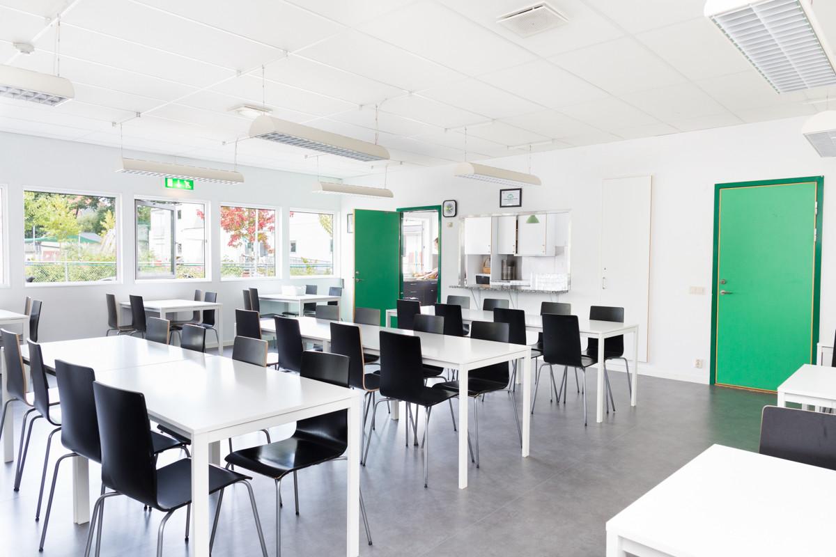 Eoshallens cafeteria