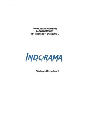 INDORAMA VENTURES POLAND   Rejestr io