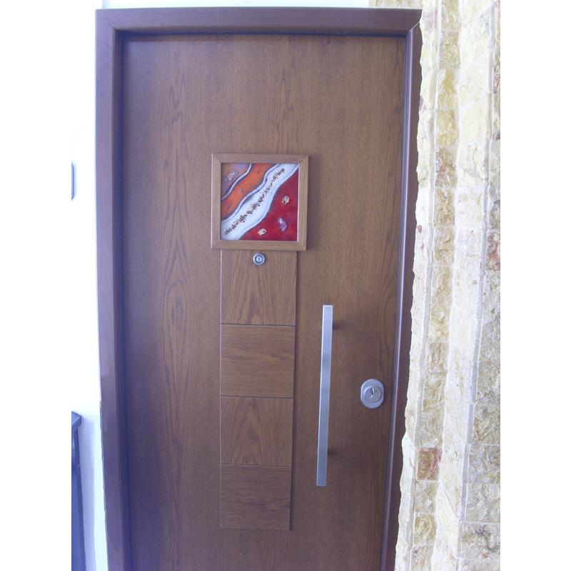 θωρακισμενες πορτες με γυαλι