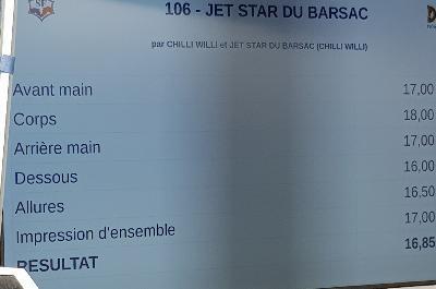 JET STAR DU BARSAC
