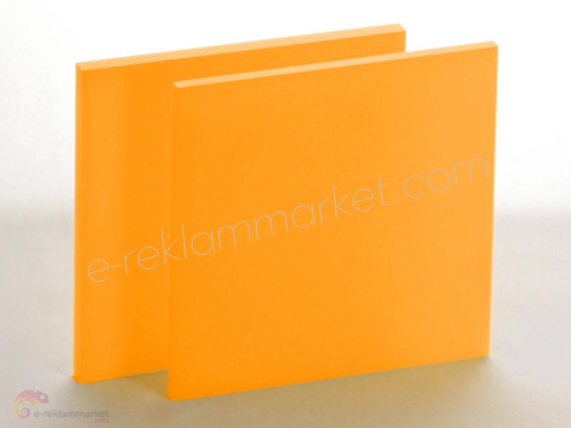 2,8mm Koyu Sarı Pleksi 1140