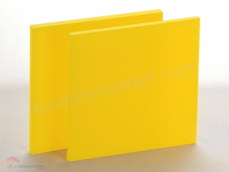 2,8mm Açık Sarı Pleksi 1140