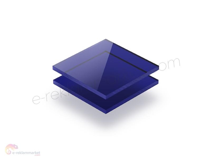 Transparan Mavi Pleksi 4050