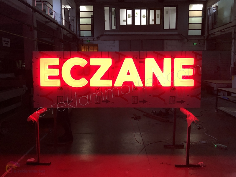 50cm Eczane Tabela (Hazır)