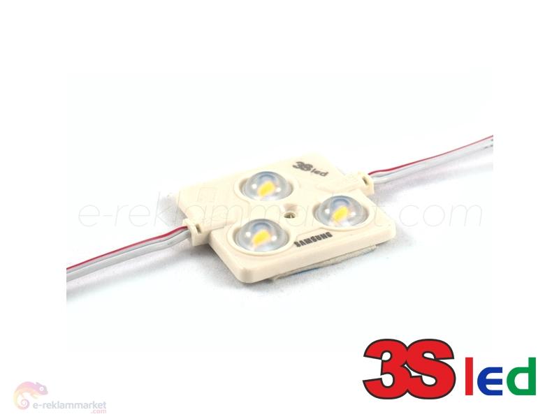 1,44W Samsung Günışığı Kare Enjeksiyon Modül Led
