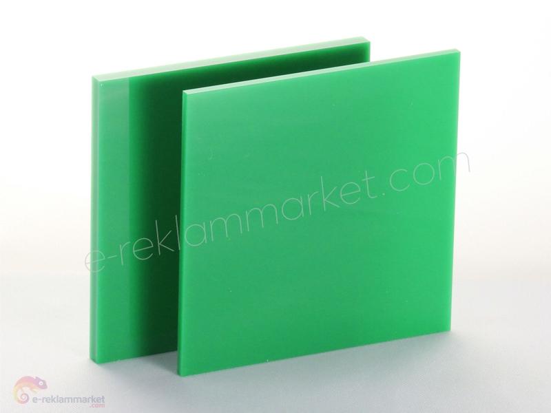 2,8mm Yeşil Pleksi 1160