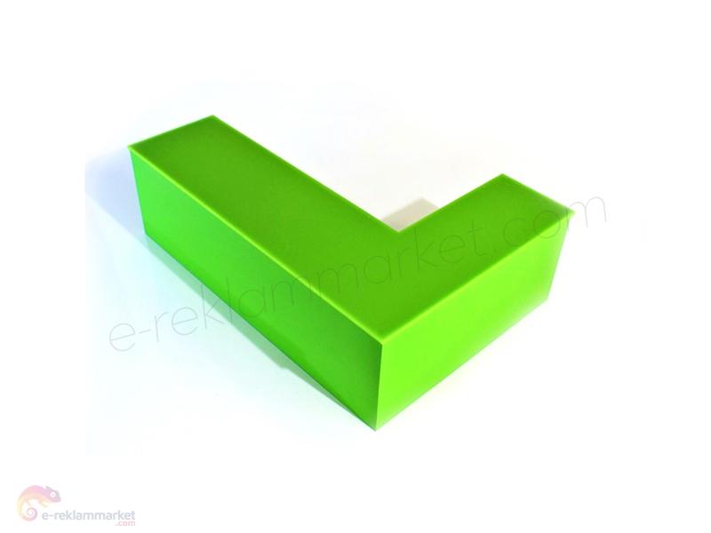 2,8mm Fıstık Yeşili Pleksi 1150